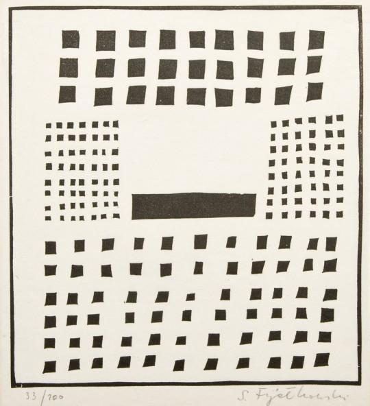 Stanisław Fijałkowski, 1963, własność prywatna (źródło: materiały prasowe Mazowieckiego Centrum Sztuki Współczesnej Elektrownia)
