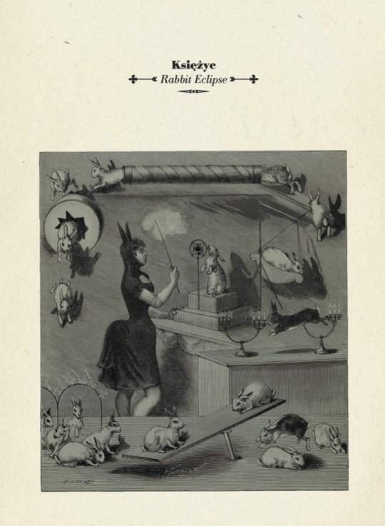"""Księżyc, """"Rabbit Eclipse"""", Penultimate Press – okładka CD (źródło: dzięki uprzejmości wytwórni)"""