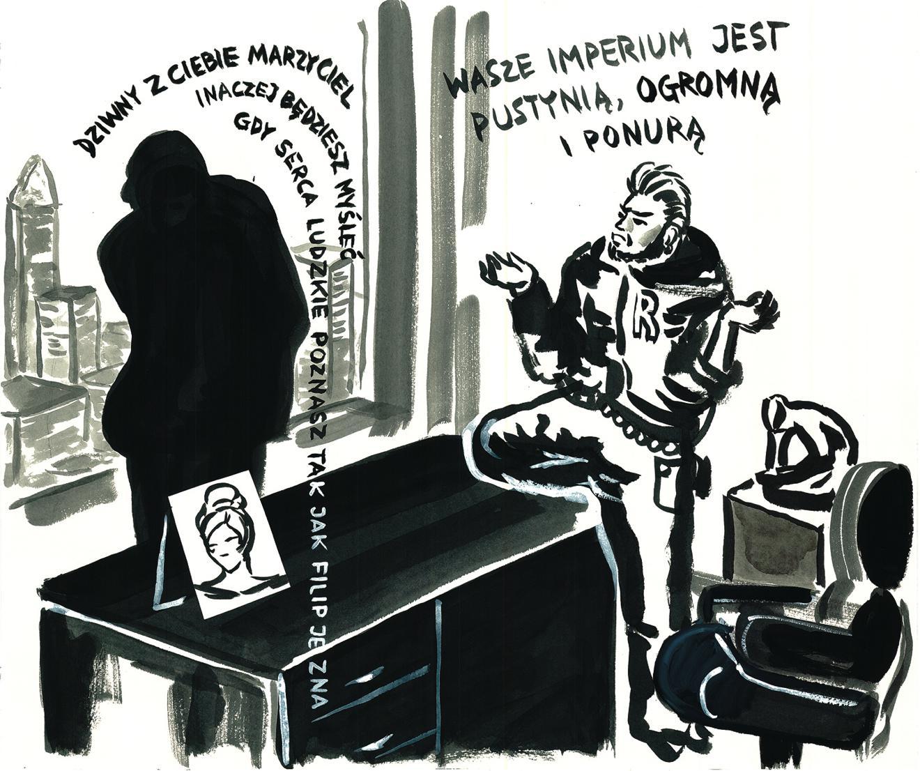 """Pola Dwurnik, """"Don Carlo (Dziwny z ciebie marzyciel)"""", 2012 (źródło: materiały prasowe MWW)"""