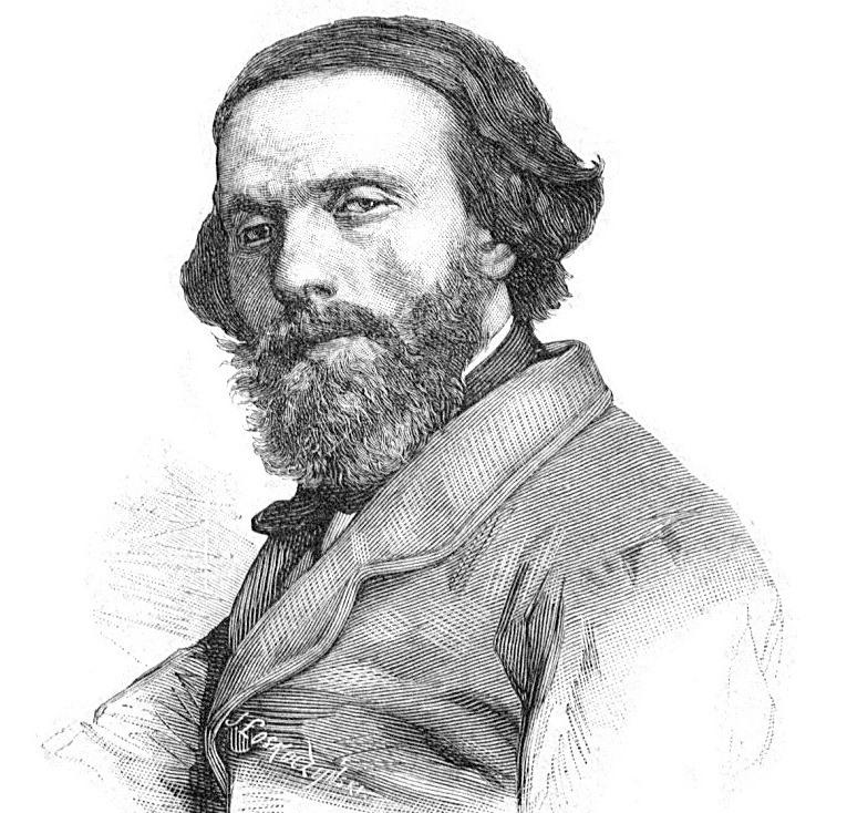 Józef Łoskoczyński, portret Cypriana Kamila Norwida, XIX wiek (źródło: Wikimedia Commons)