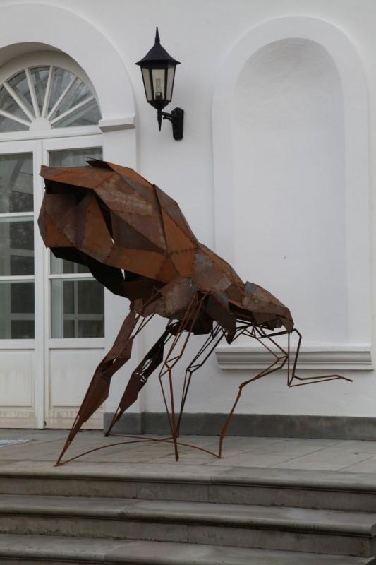 Tomasz Górnicki, Cień, 2015, ASP w Warszawie, fot. J. Gaworski (źródło: materiały Kwartalnika Rzeźby Orońsko)