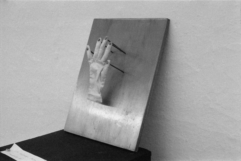 """""""Diesofortige Befreiungder Hand"""" (źródło: materiały prasowe organizatora)"""