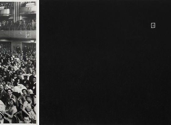 """Jagoda Przybylak, """"Dziewczyna w szarej sukience"""", 1984, tryptyk © Galeria Propaganda (źródło: dzięki uprzejmości Galerii)"""