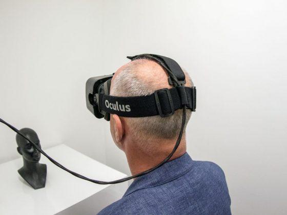 """Wystawa """"Jeremy Couillard, Sculpting (Virtual) Realities"""", Trafostacja Sztuki w Szczecinie, 2016 (źródło: materiały prasowe organizatora)"""