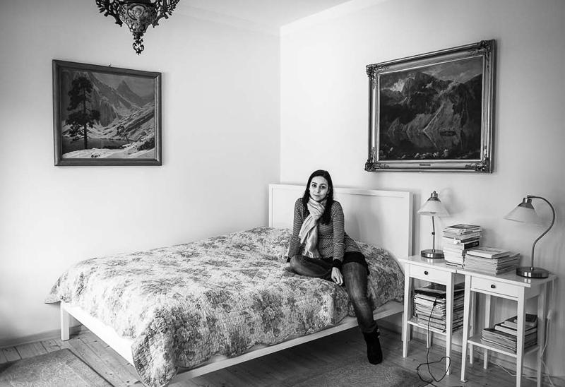 """Magdalena Wdowicz-Wierzbowska, """"Po prostu męża mi brakuje. Spotkania z wdowami"""", Karolina (źródło: dzięki uprzejmości artystki)"""