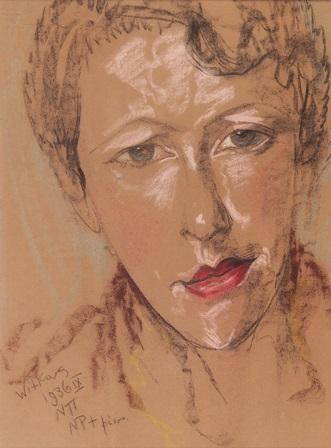 """Stanisław Ignacy Witkiewicz, """"Portret Eugenii Wyszomirskiej"""" (źródło: materiały prasowe organizatora)"""