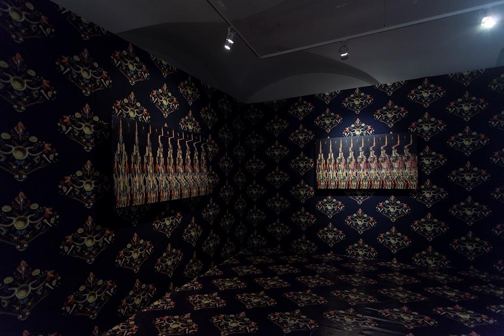 Prace Anastazji Jarodzkiej, wystawa 12. Konkursu Gepperta w galerii Awangarda BWA Wrocław, foto: Alicja Kielan (źródło: dzięki uprzejmości organizatora)