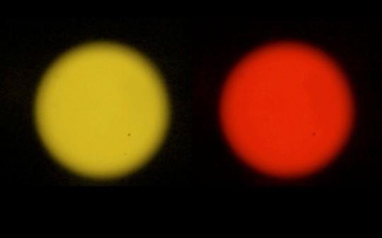 """Anna Zaradny, """"Sunrise/Sunset"""", 2014, kompozycja audio-wideo, kadr z filmu (źródło: materiały prasowe organizatora)"""
