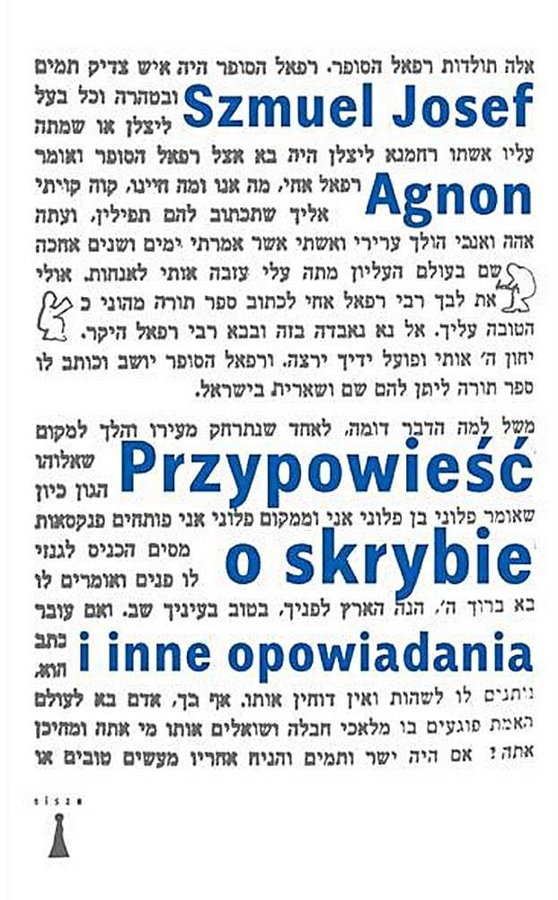 """Szmuel Josef Agnon, """"Przypowieść o skrybie i inne opowiadania"""", okładka (źródło: materiały prasowe)"""
