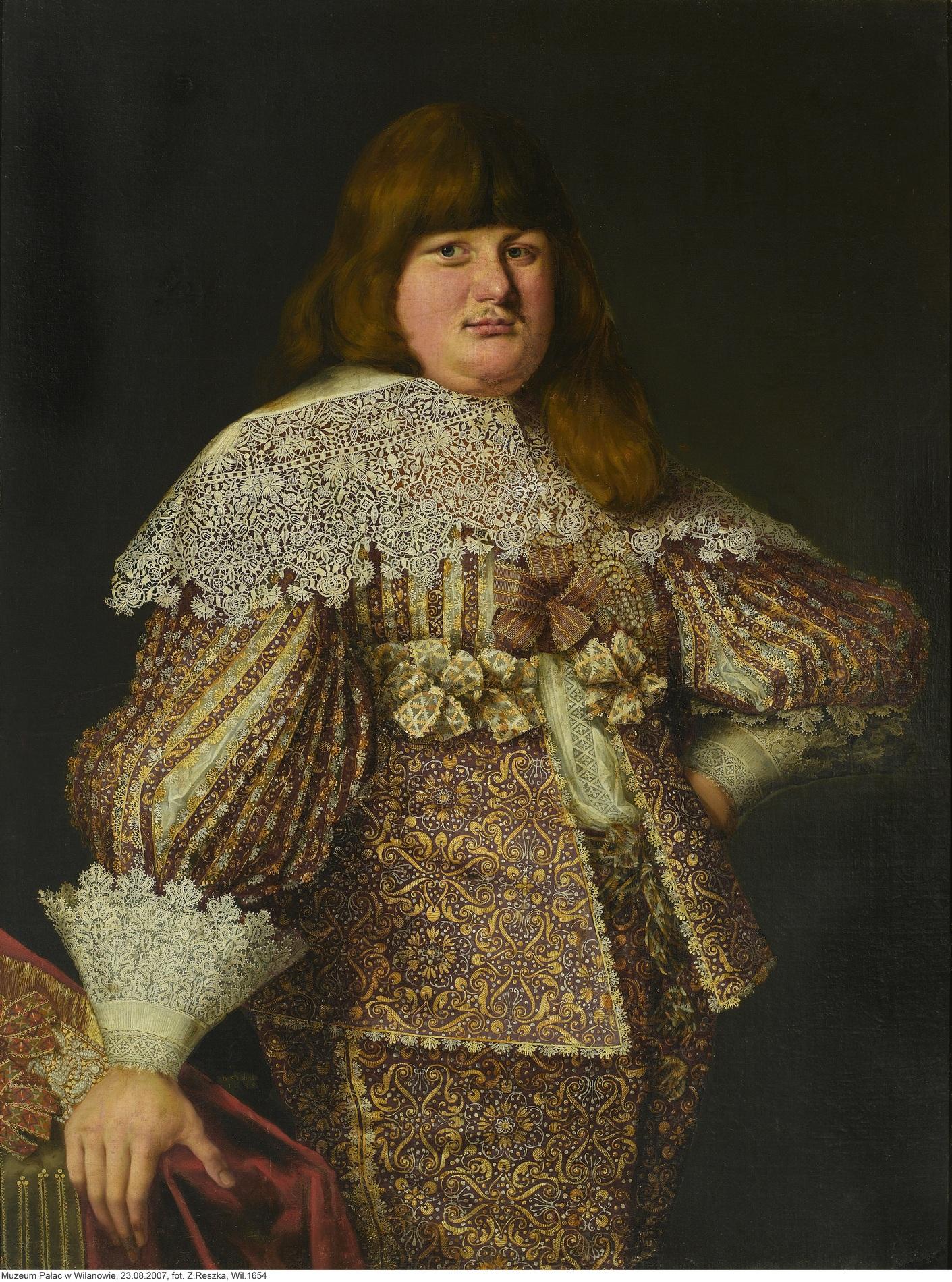 """Bartholomaeus Strobel, """"Portret Władysława Fryderyka Zasławskiego-Ostrogskiego"""", ok. 1635 (źródło: materiały prasowe organizatora)"""