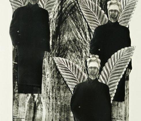 """Andrzej Różycki, """"Fotoandrzejozofia"""", 2010, fotografia, kolaż. Dzięki uprzejmości artysty (źródło: archiwum K. Jureckiego)"""