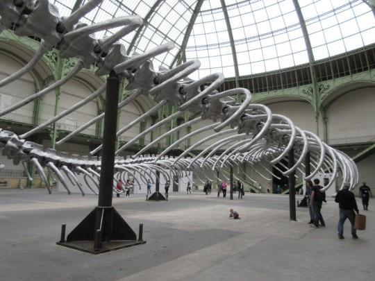 Monumenta 2016. Huang Yong Ping. Imperia, Grand Palais, fot. E.I. Nowak (źródło: materiały Kwartalnika Orońsko)