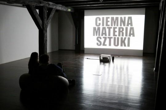 """Widok wystawy Anny Baumgart """"Terytorium Komańczów"""", 2016, fot. Anna Tuschik (źródło: dzięki uprzejmości organizatora)"""