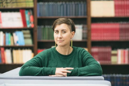 Anna Karczewska, fot. Marta Ankiersztejn (źródło: dzięki uprzejmości A. Karczewskiej)