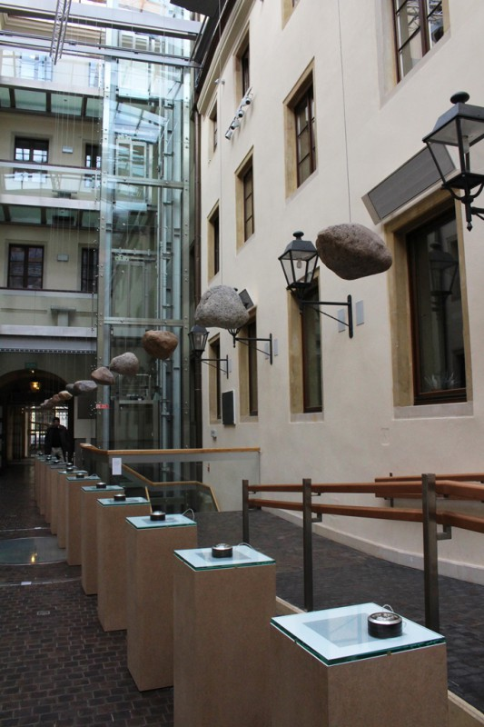 """""""Nieczytelność. Palimpsesty"""", Muzeum Pana Tadeusza, 2016, widok wystawy (źródło: dzięki uprzejmości Muzeum)"""