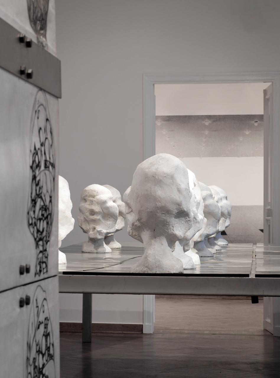 """""""Wanda Czełkowska. Retrospekcja"""", Muzeum Rzeźby w Królikarni, 2016, fot. Sz. Rogiński (źródło: materiały kwartalnika Orońsko)"""