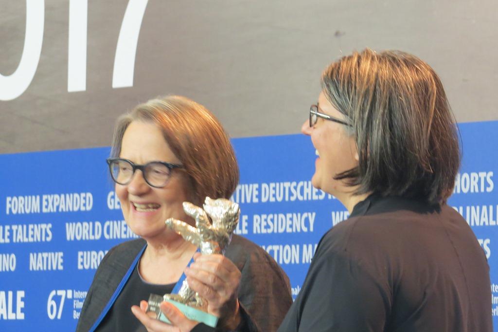 Agnieszka Holland, Kasia Adamik, Berlinale, fot. A. Hołownia (źródło: dzięki uprzejmości autorki)