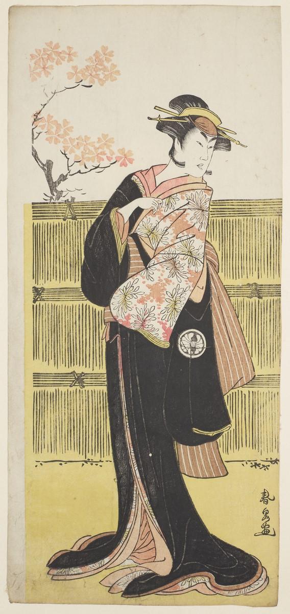 """Katsukawa Shunsen (ok. 1762–1830), """"Aktor Segawa Kikunojo III w roli kobiety"""" (źródło: materiały prasowe organizatora)"""