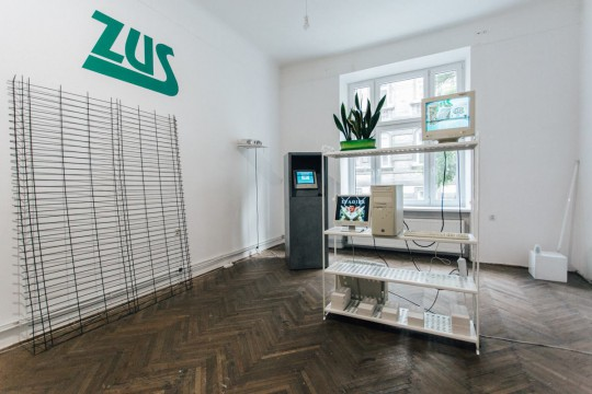 """Wystawa """"Virtualny Inspektorat"""", fot. Studio FILMLOVE (źródło: dzięki uprzejmości galerii)"""