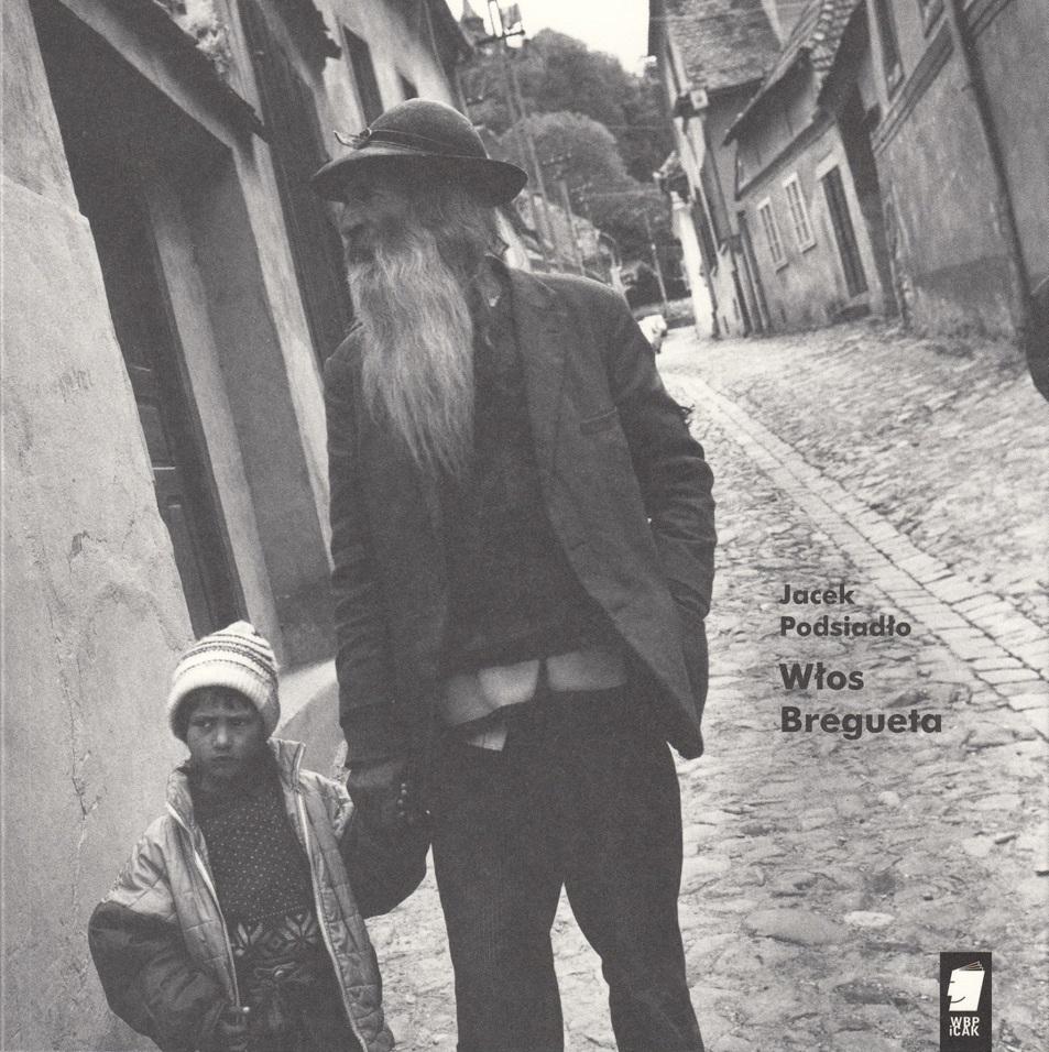 """Jacek Podsiadło, """"Włos Bregueta"""" – okładka (źródło: materiały prasowe wydawcy)"""