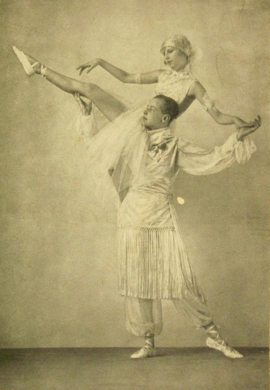 Waleria Kończyńska w pozie ze skeczu Kokaina, 1921–1924, Muzeum Literatury im. Adama Mickiewicza (źródło: dzięki uprzejmości organizatora)