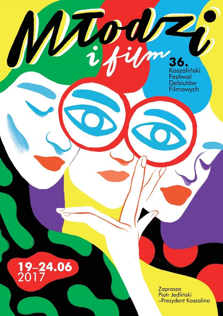 36. Koszaliński Festiwal Debiutów Filmowych, plakat (źródło: materiały prasowe organizatora)