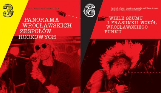 """Bogusław Klimsa, """"Rock we Wrocławiu 1959–2000"""" – wnętrze książki (źródło: materiały prasowe wydawcy)"""