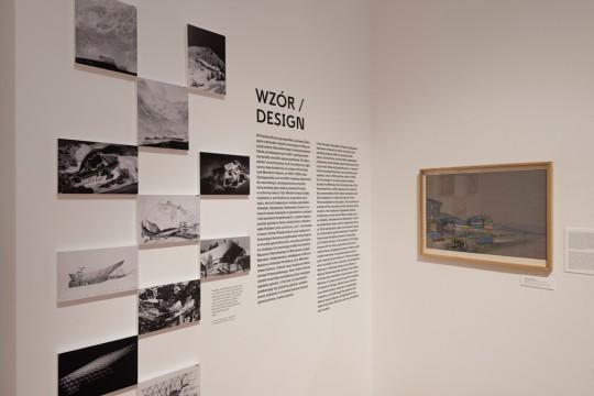 """Wystawa """"Relacja Warszawa – Zakopane"""", Królikarnia, 2017, fot. Bartosz Górka (źródło: dzięki uprzejmości organizatora)"""