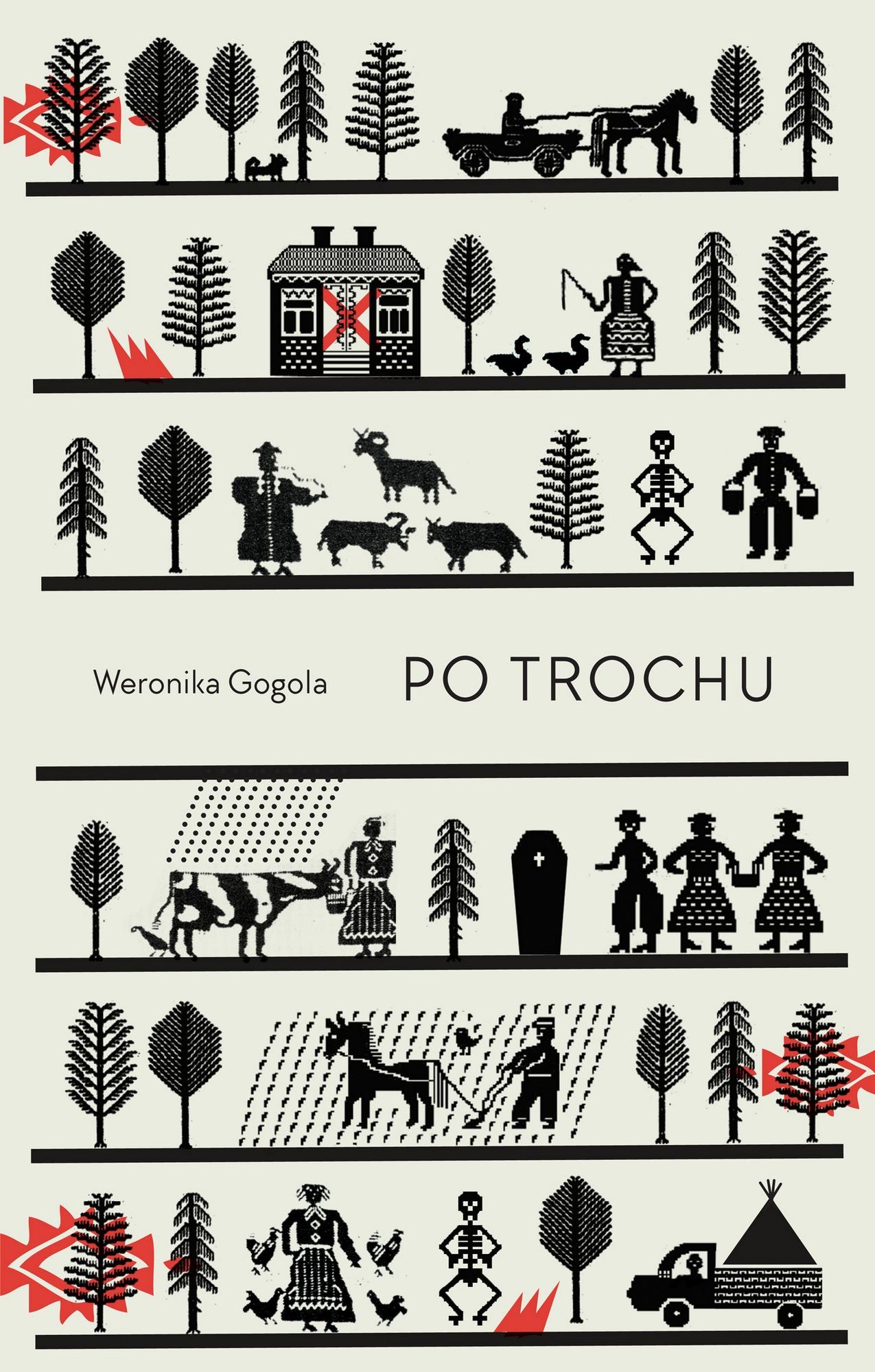 """Weronika Gogola, """"Po trochu"""" – okładka (źródło: materiały prasowe wydawcy)"""