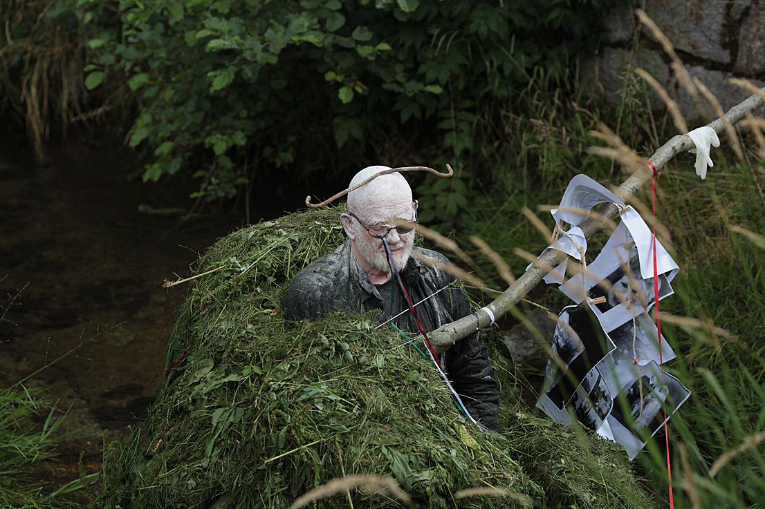 Alastair MacLennan, performance REAL LEAR, fot. Marcin Polak/Jerzy Grzegorski (źródło: dzięki uprzejmości organizatorów)