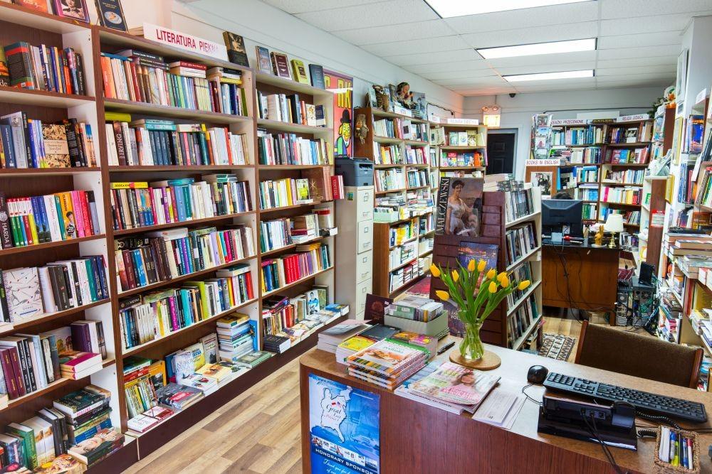 Księgarnia Polonia w Chicago współcześnie (źródło: dzięki uprzejmości Miry Puacz)