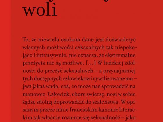 """Susan Sontag, """"Style radykalnej woli"""", Wydawnictwo Karakter, Kraków 2018"""