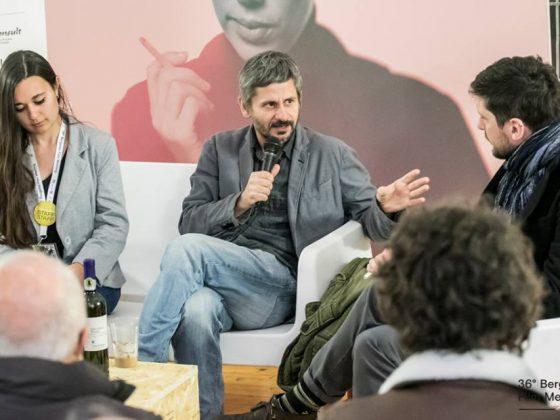 Adrian Sitaru podczas 36° Bergamo Film Meeting (źródło: materiały prasowe organizatora)