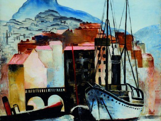 """Mojżesz Kisling, """"Notre Dame de la Garde w Marsylii"""", olej, z kolekcji Marka Roeflera, Villa la Fleur (źródło: materiały prasowe organizatora)"""