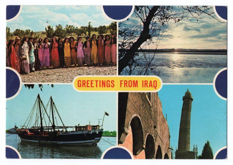 pocztówka z Iraku