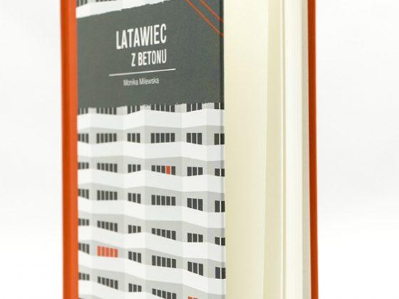 """Monika Milewska, """"Latawiec z betonu"""", Wydawnictwo Mandu, Kraków 2018 (źródło: materiały prasowe wydawcy)"""