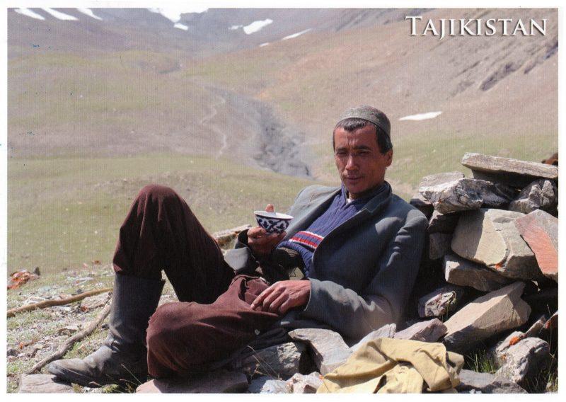 pocztówka z Tadżykistanu