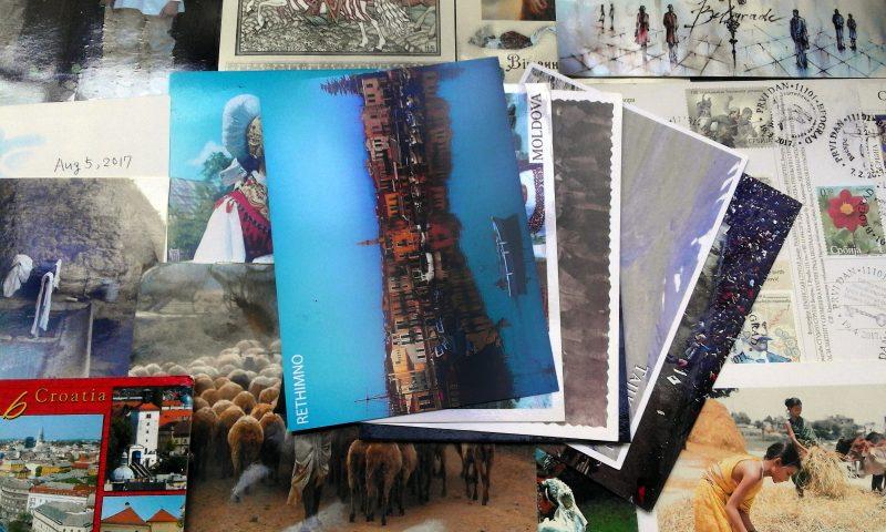 pocztówki z całego świata