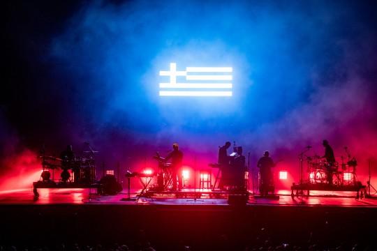 Open'er 2018, Massive Attack, fot. M. Murawski (źródło: materiały prasowe organizatora)
