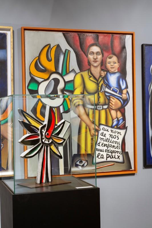 """""""Czerwona materia. Nadia Léger"""", Muzeum Sztuki w Łodzi (źródło: materiały prasowe organizatora)"""