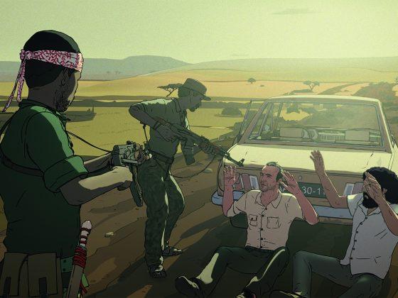 """""""Jeszcze dzień życia"""", reż. Damian Nenow, Raúl de la Fuente, fot. Platige Films, Next Film, 2018 (źródło: materiały prasowe dystrybutora)"""