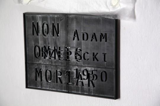 """Adam Rzepecki, """"Non Omnis Moriar"""", 2018, fot. J. Gaworski (źródło: materiały prasowe organizatora)"""