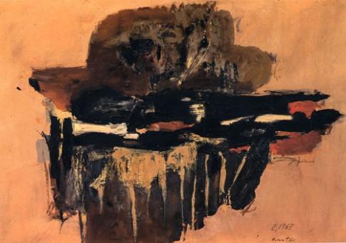 Fot. Tadeusz Kantor, Kompozycja abstrakcyjna (1963 r.)