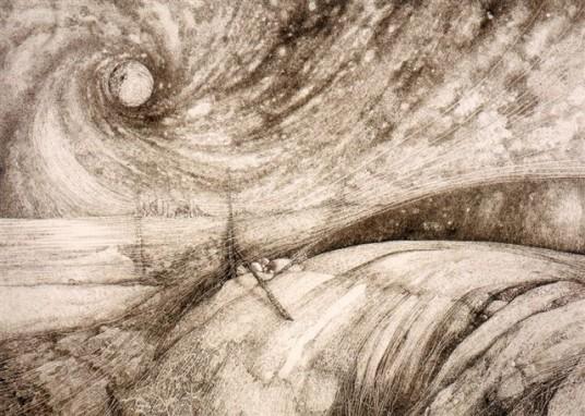"""""""La fine del quinto sole"""", Joanna Brześcińska- Riccio"""