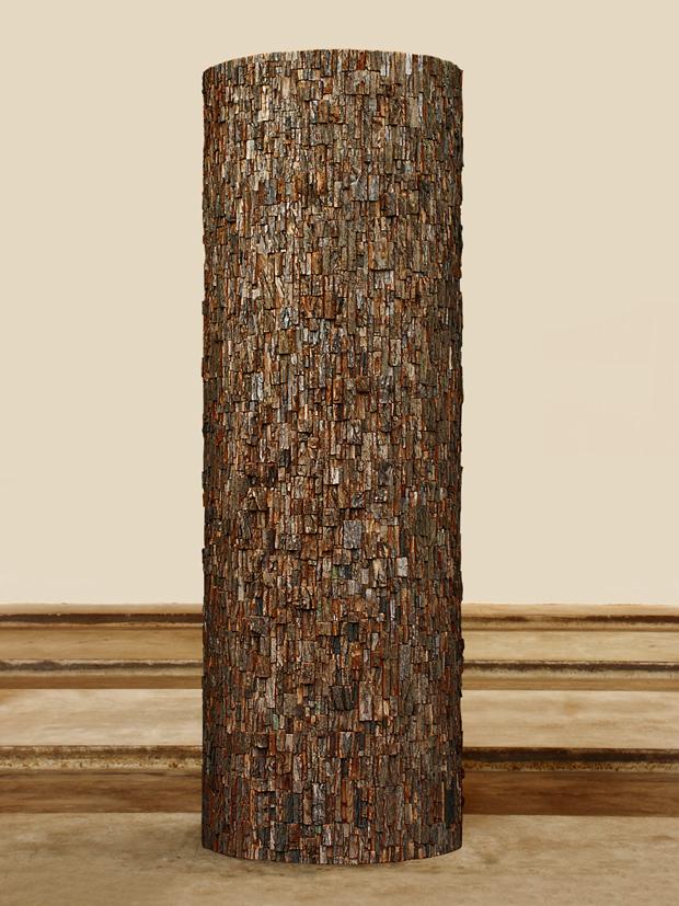 Jan de Weryha-Wysoczański, Drewniana Kolumna