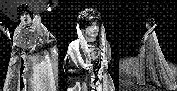 Nina Repetowska w monodramie Polita - królowa ekranu
