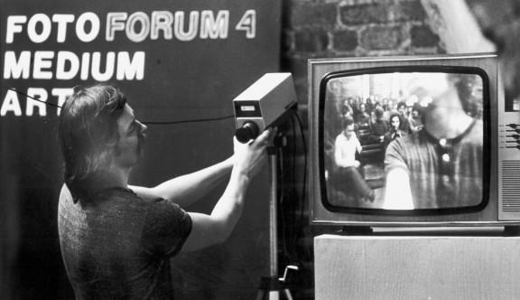 Wojciech Bruszewski podczas IV Forum Foto-Medium-Art