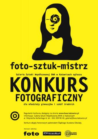 Konkurs fotograficzny FOTO-SZTUK-MISTRZ