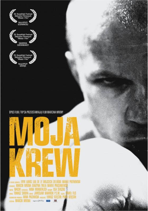 """Plakat filmu """"Moja Krew"""", reż. Marcin Wrona"""
