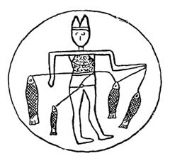 Andrzej Wróblewski. Babylonian Fisherman